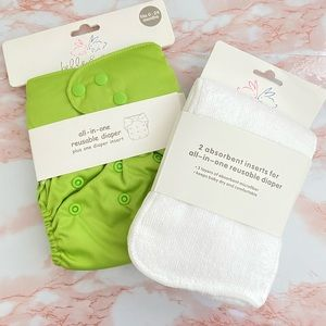 Belle & Coco All in One Reusable Diaper New 0-24